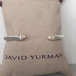 David Yurman 5mm Morganite & Diamonds Bracelet